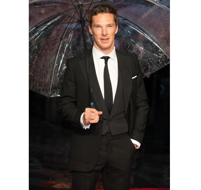 El actor benedict Cumberbatch alfombra roja