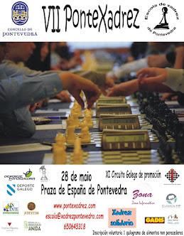 VII Torneo PonteXadrez ao aire libre