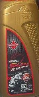 Federal Racing, Oli Untuk Motor Sport dan Balap