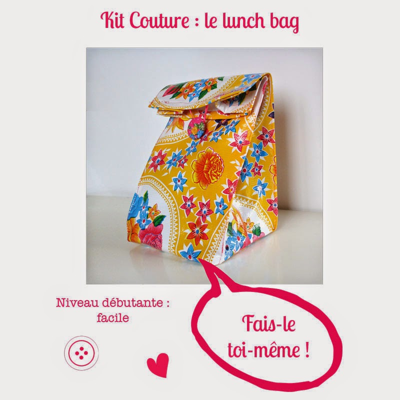 Kit Couture lunch bag