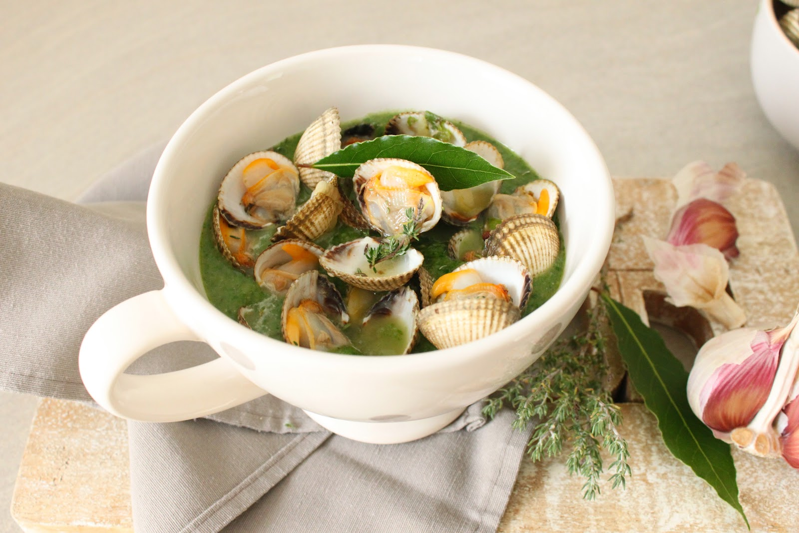 Petits repas entre amis soupe de coques verte for Repas entre copains