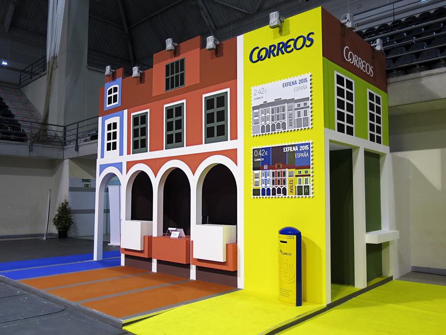 Stand de Correos EXFILNA 2015 Avilés