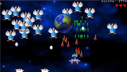 Chicken Invaders 1 Game Free Download