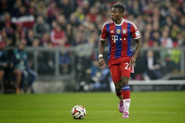 Cedera Lutut Dialami Alaba Dari Skuad Bayern Munich