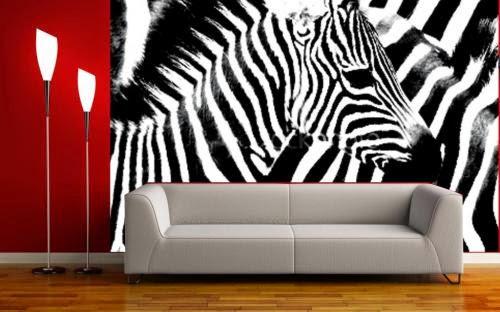 Decoracao Sala Zebra ~  Print, Elegância e Bom Gosto na Decoração # decoracao sala zebra