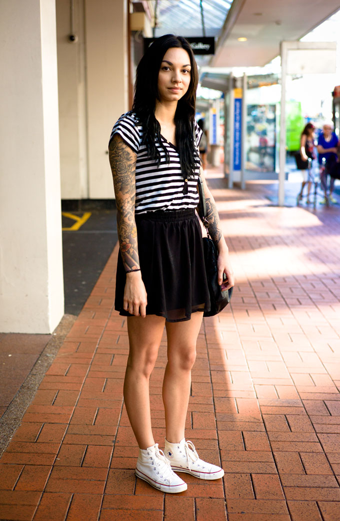 NZ street style, street style, street photography, New Zealand fashion, auckland street style, hot kiwi girls, tattoos on girls, kiwi fashion