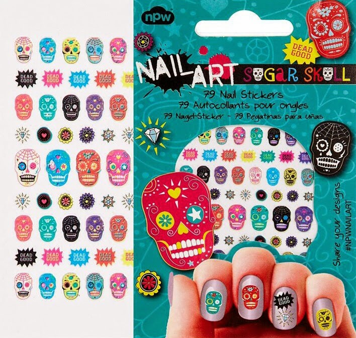 Evys Whole Lotta Lovin Corner Sugar Skull Nail Art