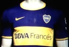 Camiseta filtrada de Boca Juniors 13/14