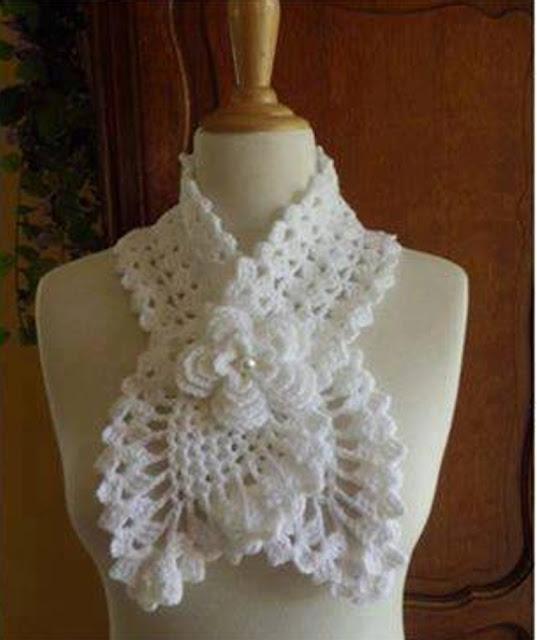 Bufanda a Crochet o Ganchillo