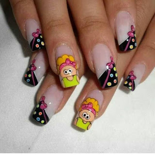 Uñas decoradas - decorated nails 2016