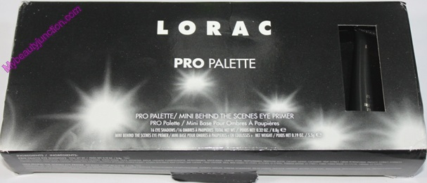 Lorac Pro eyeshadow palette 1 review, swatches, photos