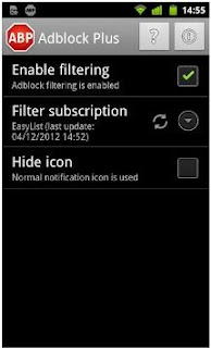 Adblock Plus for Android devices