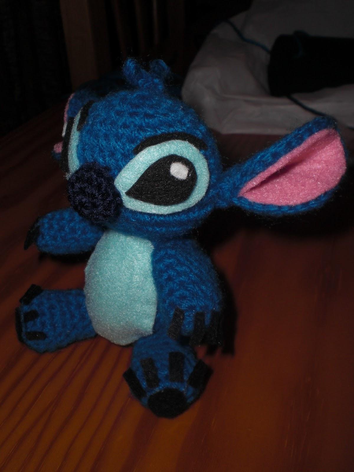 Amigurumi Lilo And Stitch : El b?ho costurero: Un nuevo encargo: amigurumi Stitch.
