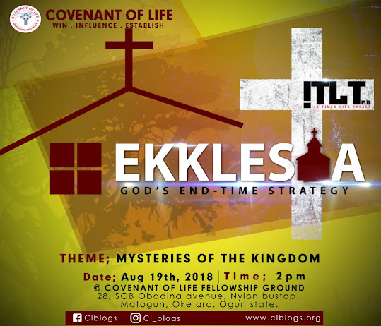 Ekklesia - God's system of Results