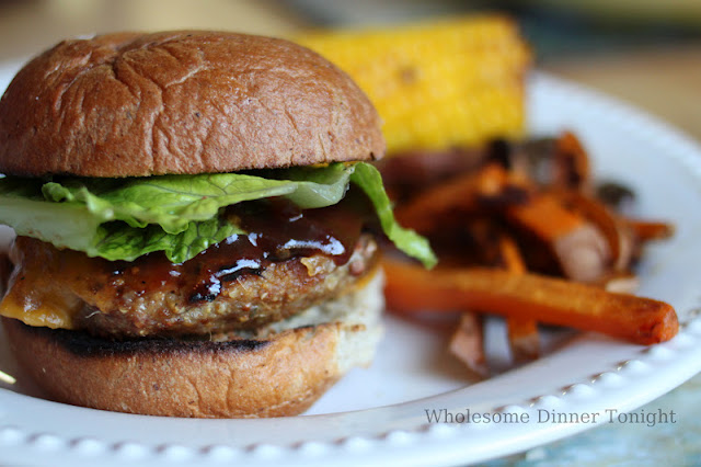 Quinoa Turkey Burgers {Gluten Free}