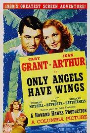 Watch Only Angels Have Wings Online Free 1939 Putlocker