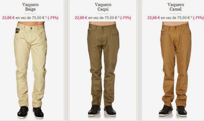 Ejemplos de pantalones vaqueros muy baratos de Wrung
