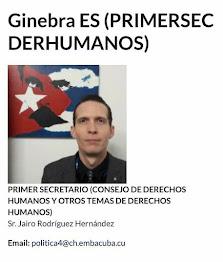 Este es el nombre y el correo del vocero del régimen de los Castro que saboteó a Ariel Ruiz Urquiol
