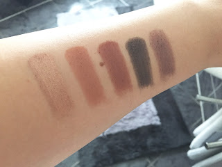 Zoeva Cocoa Blend Palette Swatches