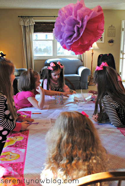 Barbie Birthday Party Ideas, from Serenity Now