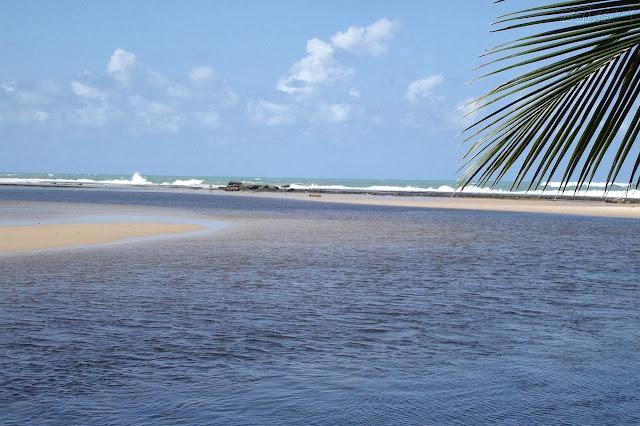 dicas e fotos de viagem a praia barra de cunhaú no rn.