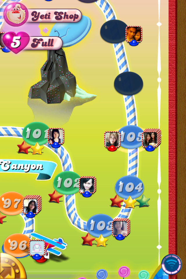 Candy Crush Fever: Cheat to get more life!