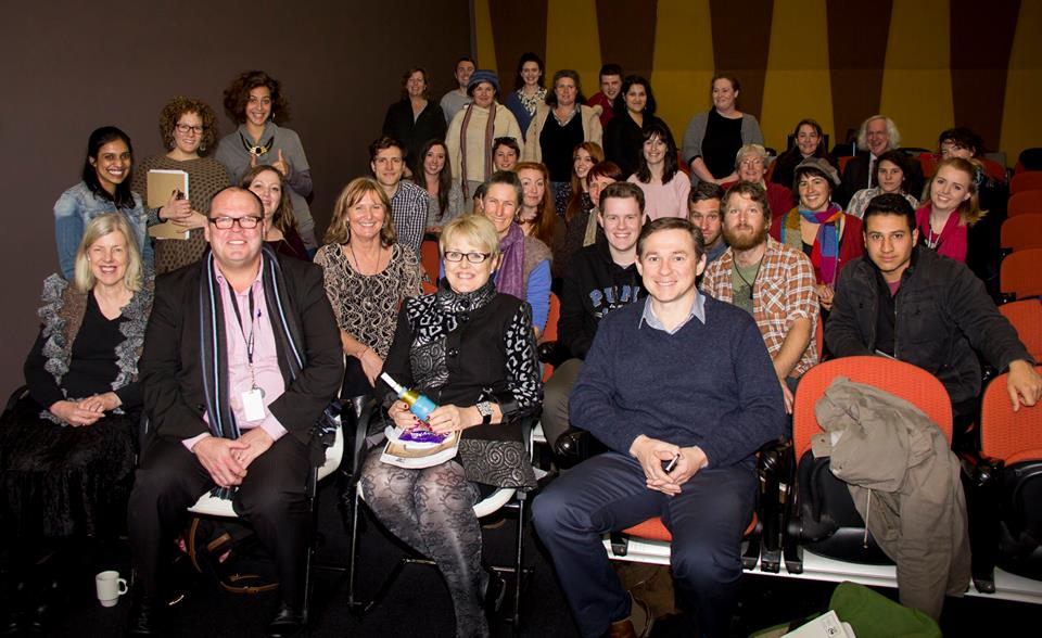 What a bunch! Last year's Bendigo Writers in Action