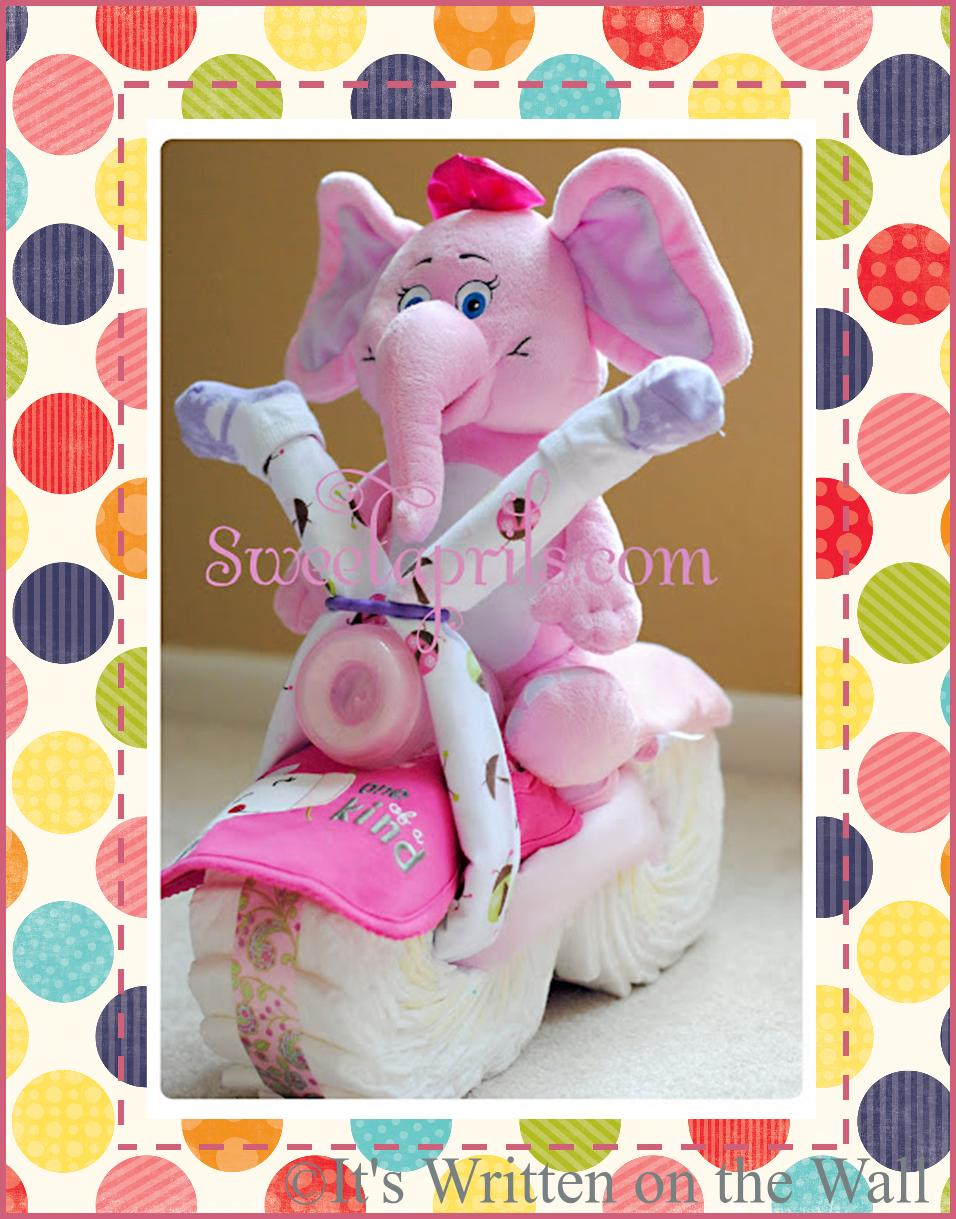 perfect baby shower gift the cutest motorcycle diaper cake you 39 ve