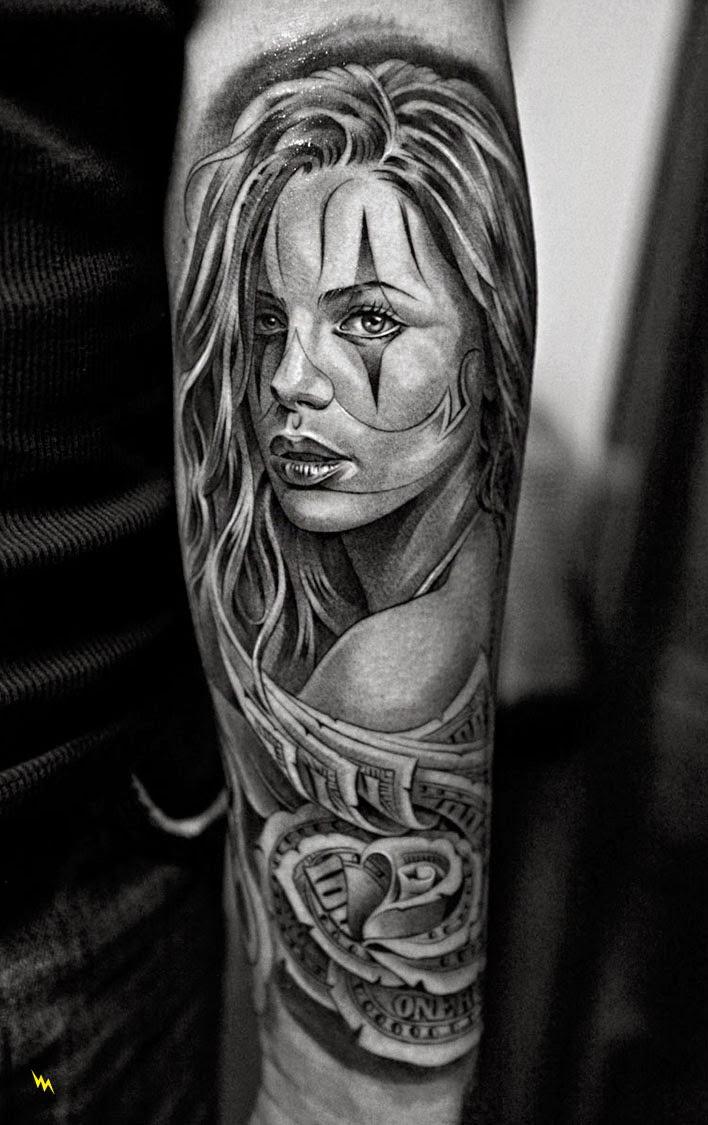 Gorgeous Catrina Tattoos