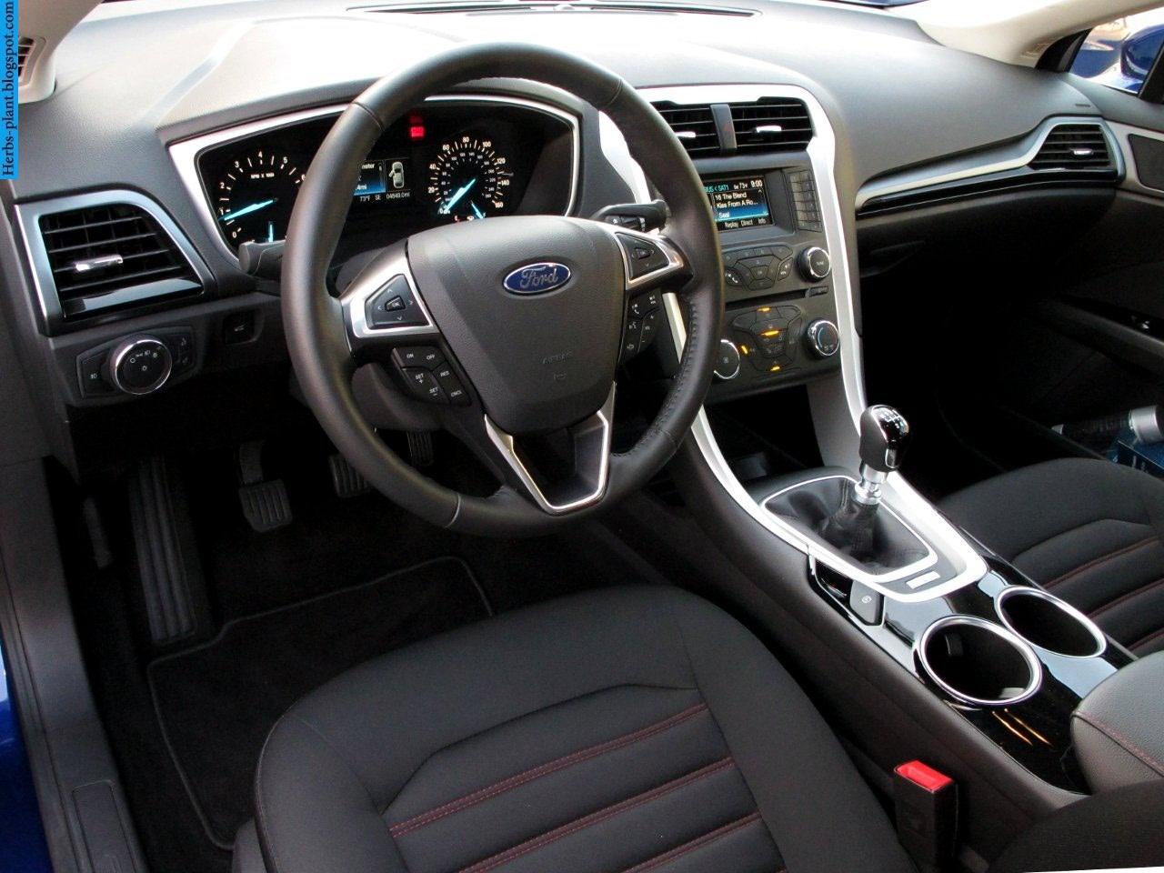 Ford fusion car 2013 dashboard - صور تابلوه سيارة فورد فيوجن 2013