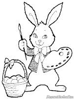 Ayo Mewarnai Gambar Kelinci