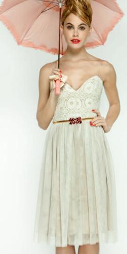 vestidos de fiesta Dolores Promesas Heaven primavera verano 2012