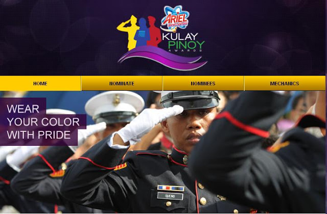 ABS-CBNNEWS Ariel Kulay Pinoy Awards Information Nomination And Mechanics Page