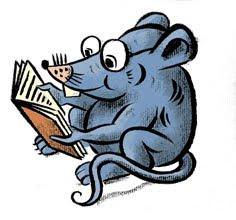 Ich bin eine Leseratte