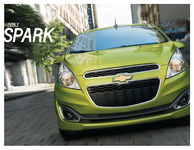 2013 chevrolet spark brochure