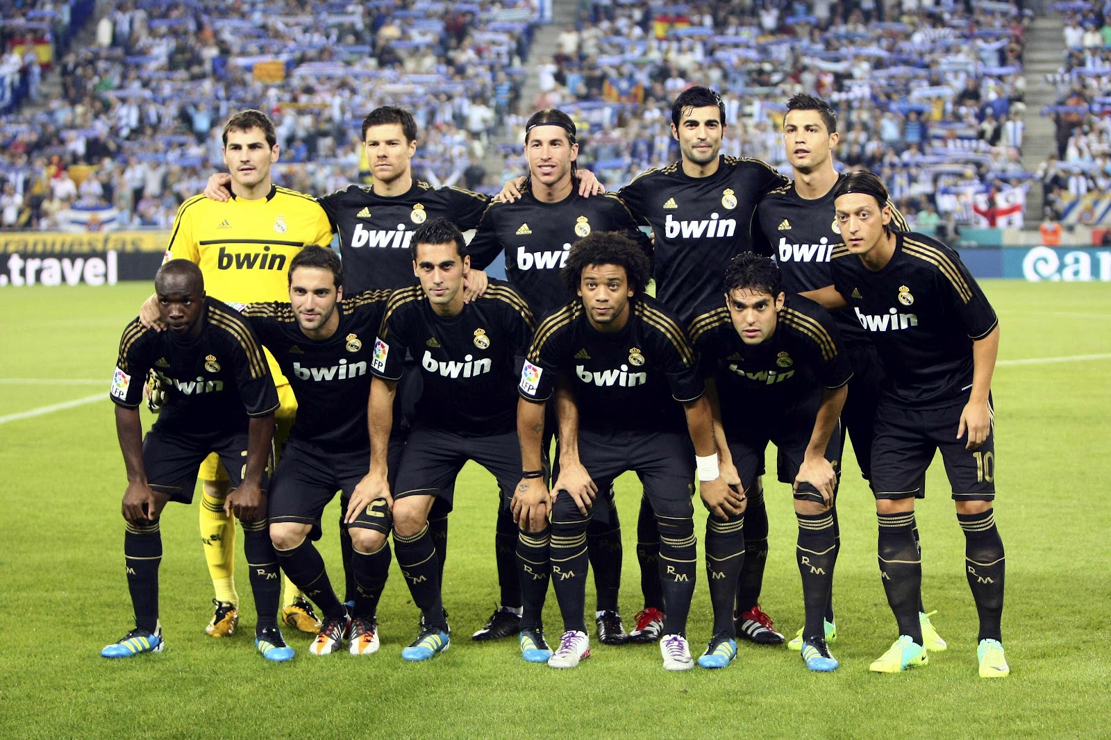 real madrid fc team male models picture