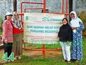 Bank Sampah Melati Bersih Pamulang Residence Pondok Benda Pamulang Tangerang Selatan