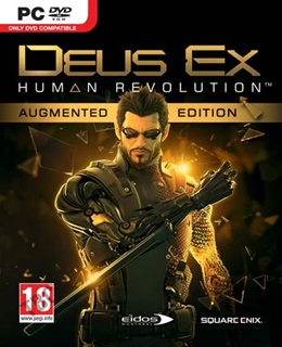 Deus Ex: Human Revolution PC Capa