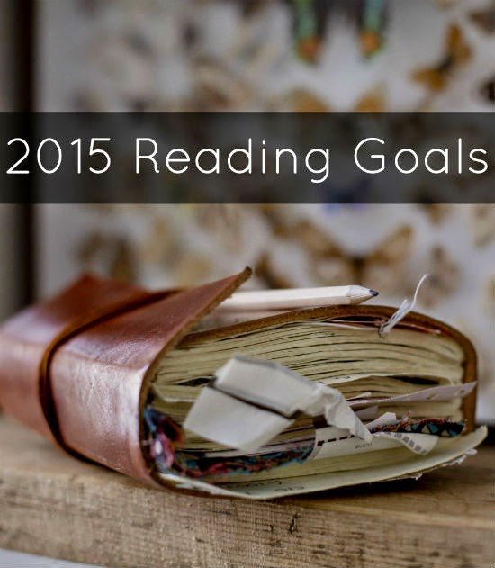 2015 Reading Goals | alyssajfreitas.blogspot.com