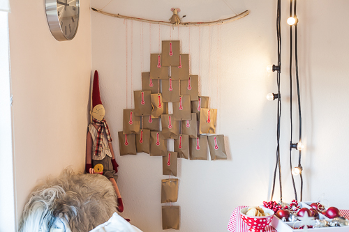 Amalie loves Denmark Adventskalender-Baum DIY