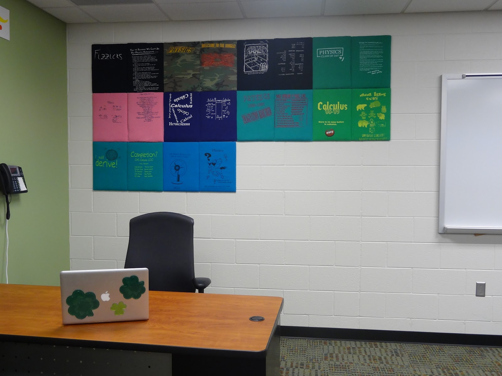 Made 4 Math: T-Shirt Wall Display | teacher thinks about
