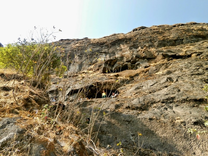 The small cave on Alang where we had to reach