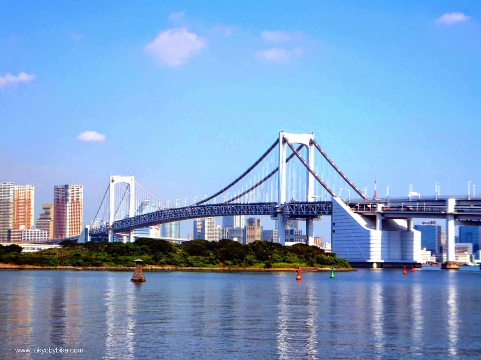 Tokyo's Rainbow Bridge by Bicycle