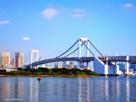 Tokyo's Rainbow Bridge By Bike