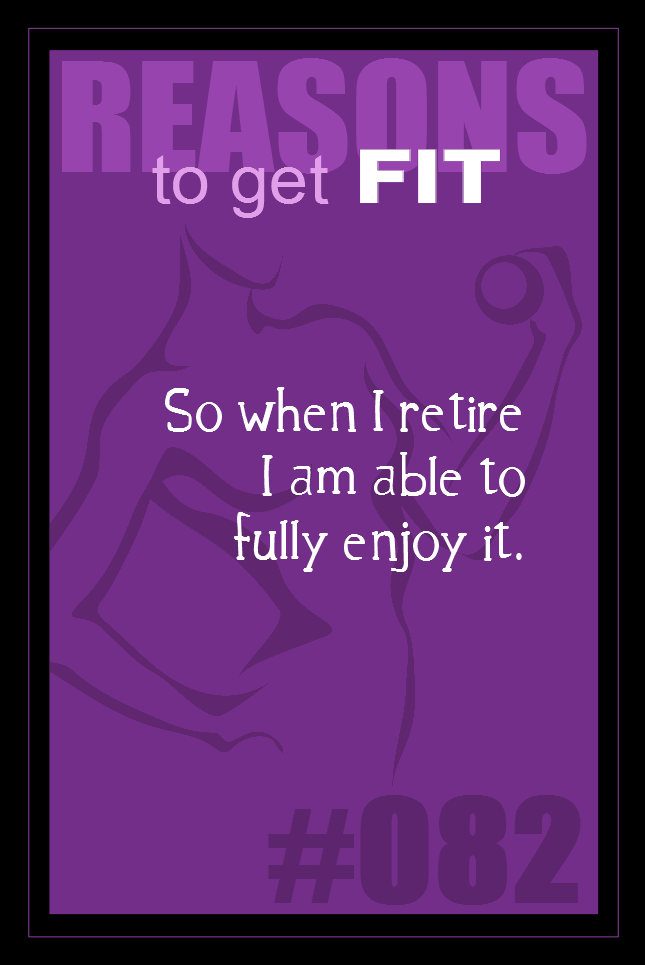 365 Reasons to Get Fit #082