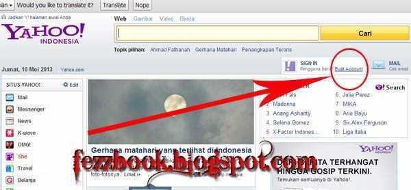 Anisatul Aflahah: Cara Membuat Facebook