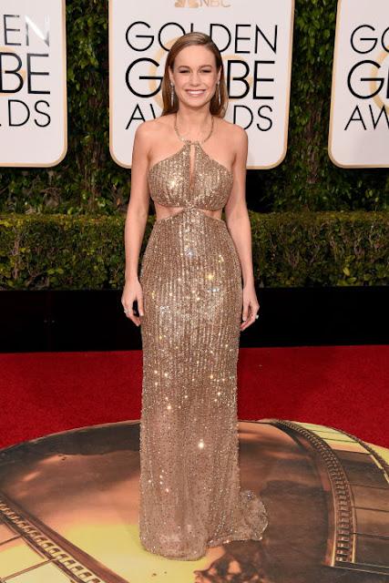 Brie Larson Calvin Klein Golden Globes 2016