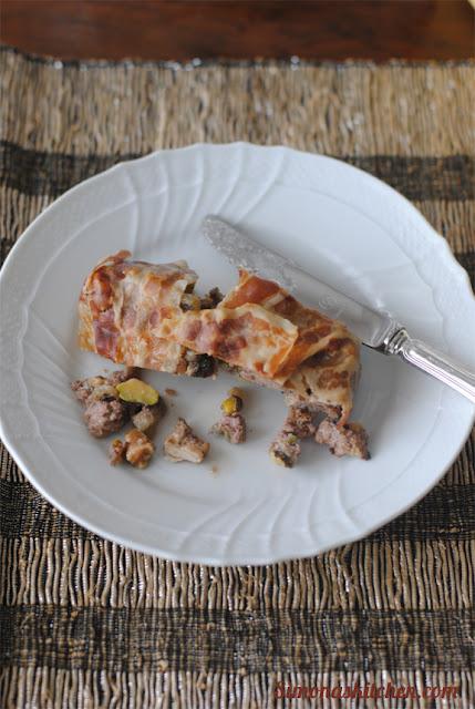terrina di fegatini e pollo al vinsanto