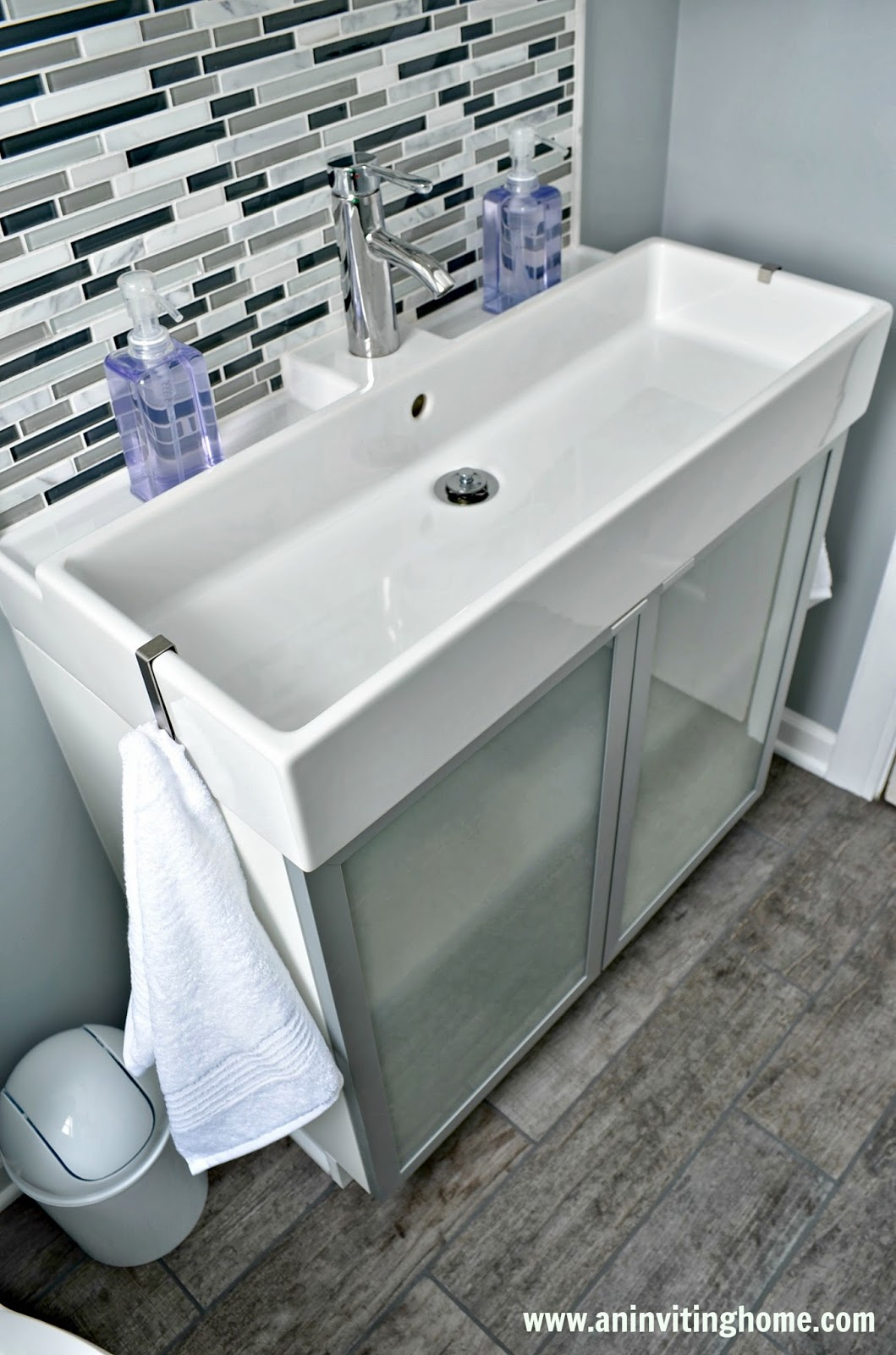 Ikea Bathroom Sink : of Ikea Bathroom Sink And Cabinet Picture With Trough Sink Bathroom ...