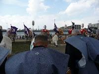 一基の唐櫃と六基の神輿、松尾七社は五穀豊穣や家内安全を祈った